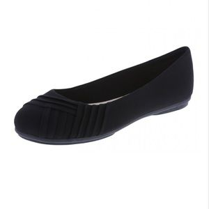 American Eagle Bree Pleated Ballet Flat Shoes